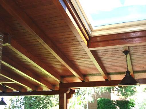 Galeria de fotos techos noble madera - Fotos techos de madera ...
